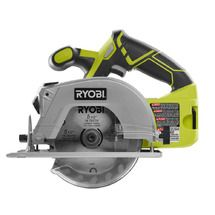 "ONE+™ delivers more value and performance with the 18V ONE+™ 5-1/2"" Circular Saw with laser. It has a compact design for better handling and left side blade for better cut line visibility. It is equipped with an Exactline™ laser that automatically activates during use to improve cut accuracy. It also features the new and improved GripZone™ overmold for optimum grip and user comfort. This saw can make bevel cuts of up to 50 degrees and its electric brake ..."