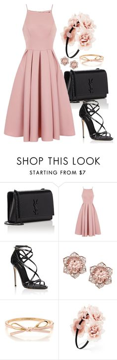 """Sans titre #771"" by wafa-az on Polyvore featuring mode, Yves Saint Laurent, Chi Chi, Dolce&Gabbana et Forever 21"