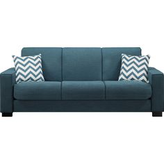 Sleeper Sofa. It comes in my 2 favorite colors, blue and purple! :D