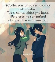 frases t&t nails fall river ma - Fall Nails Cute Love, Love You, My Love, Love Phrases, Spanish Quotes, Anime Love, Kawaii Anime, Love Quotes, Amor Quotes
