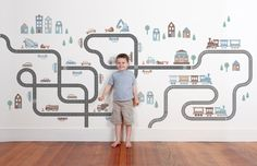 Transport Wall Decals  Got a little one who loves to move it, move it? Take your pick of trains, cars, trucks, boats, planes and construction Wall Decals to create a totally awesome room setting in your kids bedroom or playroom! With a huge range of transport inspired wall decal designs to choose from in 8 versatile colourways, you're sure to find something to start their engines with these racing wall decals!
