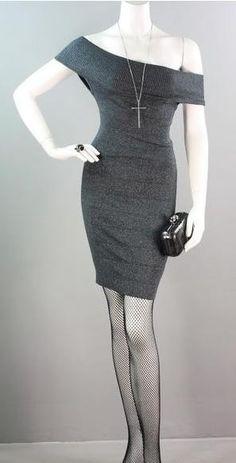 Trendi365-Knit Bandage Dress $34.99