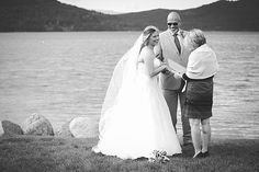 Officiant: Marrymeinmontana.love | Kelly Kirksey Photography {BLOG} My wife and I were planning to elope in Glacier National Park last fall, but due to family objections, we gave in and got married in our home state of New York