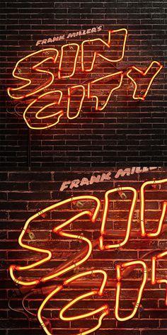 Photo realistic Neon Sign Design