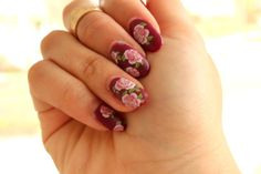 Floral Water Decal Nails Born Pretty Store, Ditsy Floral, Pretty Nails, Deco, Manicure, Nail Art, Gemstones, Art Ideas, Rose