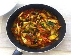 Zucchini Tomato Pasta Recipe on Yummly