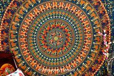 Elephant Camel ethenic Mandala Tapestries, Indian Hippie Tapestry Wall Hanging, Indian Bedspread, Bohemian Tapestry, Mandala Dorm Decor