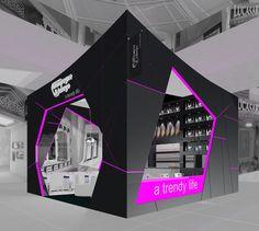 "Stand Design - Silvan Francisco, ""Champagne & Jabugo"", in Madrid. 2012"