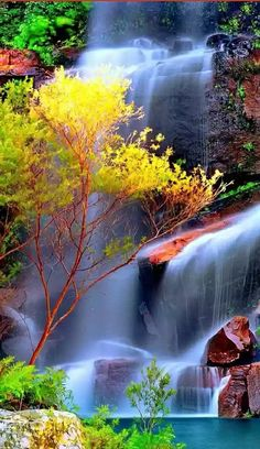 Cascada invita a un chapuzon
