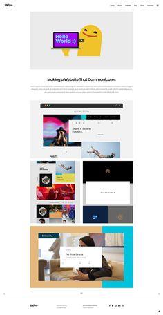 Don't wait any longer! Get Ukiyo WordPress theme and set up your new & amazing portfolio today. #wordpress #theme #design #webdesign #uxdesign #uidesign #creative #portfolio #designer #freelancer #creativeagency #designstudio #marketingagency #gallery #digital