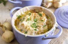 platillos franceses / sopa de cebolla