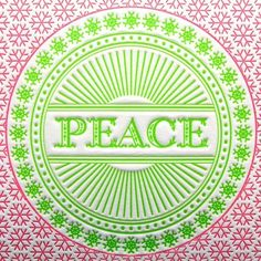 Items similar to Set of 6 - Christmas Card Letterpress Holiday Cards in Magenta and Green Set of Six on Etsy Hippie Peace, Happy Hippie, Hippie Art, Christmas Trends, Christmas Art, Images Of Peace, Give Peace A Chance, Old Paper, Love Symbols
