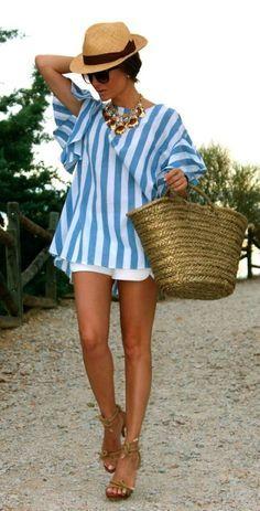 Swim Wear + Beach Wear+ Sun Wear| Serafini Amelia| Beach look, resort wear. #fashion #travel