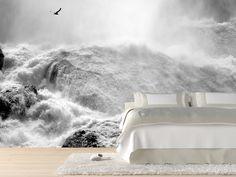 Eazywallz  - Dramatic Niagara Falls, Canada Wall Mural, $129.00 (http://www.eazywallz.com/dramatic-niagara-falls-canada-wall-mural/)