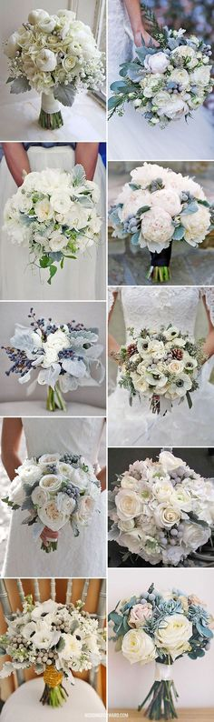 Trend Alert For Winter: Silver And Grey Wedding Bouquets ❤ We've prepared wonderful trending grey wedding bouquets for you. They will look gorgeous with white snow for sure. See more: http://www.weddingforward.com/grey-wedding-bouquets/?utm_content=buffere9f1a&utm_medium=social&utm_source=pinterest.com&utm_campaign=buffer #weddings #bouquets Find your floral inspo at