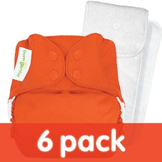 bumGenius 4.0 One-Size Stay-Dry Cloth Diaper 6-Pack - Diaper Packages - Cotton Babies Cloth Diaper Store  #Cottonbabies