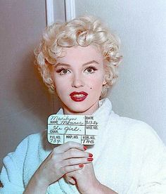 Marilyn's hair test.  I think she passed!