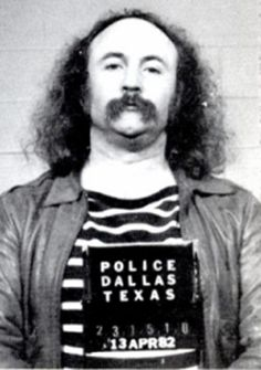 Many of the musician mug shot stories we've shared so far ended up with the rock star getting off relatively scott-free, but angelic singer David Crosby spent nine months in prison after being arrested in April of 1982 for cocaine possession.    Crosby had a couple of more brushes with the law in later years, but thankfully for music lovers seems to have put his addiction problems behind him.