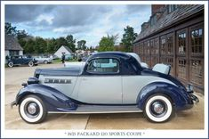 1935 Packard 120 Sports Coupe