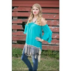 Kelly Top in Turquoise