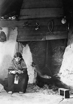 """Old Irish cottage interior, Connemara, Co. Ireland Pictures, Old Pictures, Old Photos, Vintage Photos, Galway Ireland, Connemara Ireland, Architecture Ireland, Irish Celtic, Old Irish"