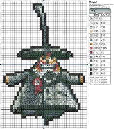 The Nightmare Before Christmas – Mayor x Birdie's Patterns, Cartoons, Disney, The Nightmare Before Christmas 0 Comments Oct 122015 Just Cross Stitch, Beaded Cross Stitch, Crochet Cross, Cross Stitch Embroidery, Disney Cross Stitch Patterns, Cross Stitch Designs, Nightmare Before Christmas Mayor, Stitch Character, Halloween Cross Stitches