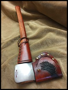 Vintage 1948 Sager Chemical Axe w/Custom Leather by John Black