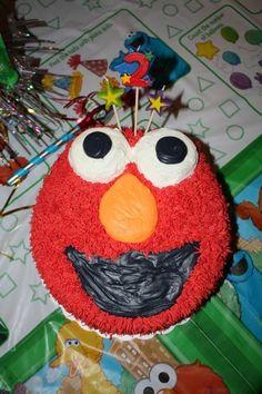 Nephews Elmo cake