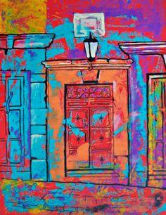 Cristi Fer Art Studio: New paintings of San Miguel Doors