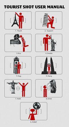 The tourist shot user manual.
