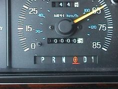 My old truck turning 100,000 miles