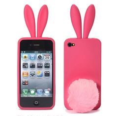 Bunny Case For iPhone 4S 4