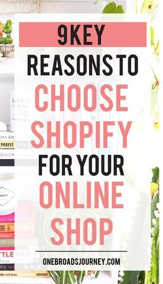 9 Key Reasons to Choose Shopify for your online shop One Broads Journey - Shopify Online Store - Start your shopify store with 14 days free trial. - 9 key reasons to choose Shopify for your online shop Business Planning, Business Tips, Online Business, Craft Business, Creative Business, Online Store Builder, Ecommerce Store, Ecommerce Websites, Sites Online