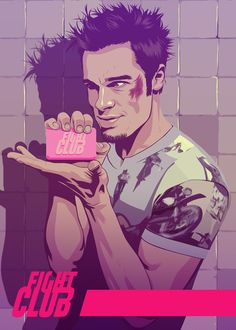FIGHT CLUB - Tyler Durden by Mike Wrobel