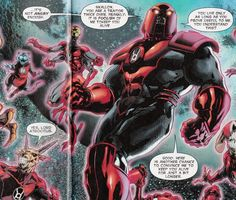 red lantern atrocitus cat | Speaking of piss poor editing, please enjoy this romantic performance ... Red Lantern Corps, Greatest Villains, Comic Book Characters, Dc Universe, Dc Comics, Monsters, Lanterns, Jackson, Marvel