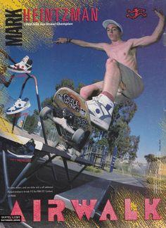 Airwalk Shoes - Mark Heintzman Ad (1989)