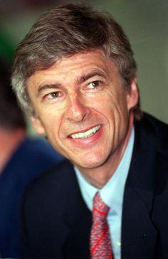 Arsène Wenger. 16th September 1998. Lens 1 v Arsenal 1. Arsenal