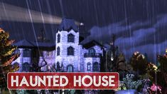 Sims 4 | House Building | Haunted Mansion Sims 4 House Building, Sims 4 Houses, Haunted Mansion, Mansions, Gallery, Youtube, Manor Houses, Roof Rack, Villas