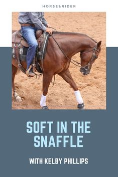 Riding in a snaffle bit is a critical skill in taking your horsemanship to the next level, no matter what type of riding you do. Keeping a horse soft in a snaffle bit requires deliberate hand movement, proper body position, and precise release. Horse Training, Training Tips, Training Exercises, Horse Riding Tips, Horse Tips, Western Horsemanship, Natural Horsemanship, Ranch Riding, Trail Riding