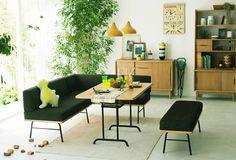 Love this! >FUNEAT(ファニート) アームベンチ | インテリアショップ[unico]:家具/インテリア/ソファ/ラグ等の販売。
