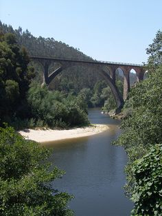 Ponte do Poço de Santiago, Sever do Vouga, Aveiro, Portugal; photo by CCDR (Centro / Região Centro de Portugal)