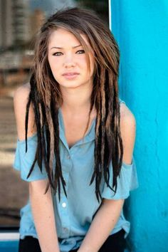 This is why I won't do dreads, because I would want them to look this good and I'm scared they wouldnt