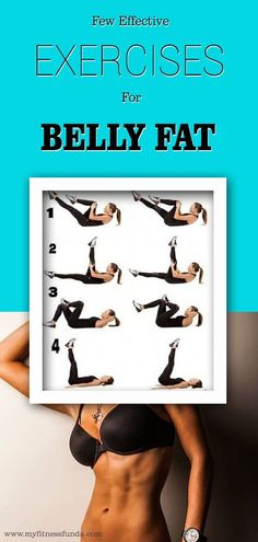 Few Effective Exercises For Belly fat