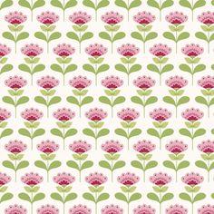 Molly, pink - Tilda fabric