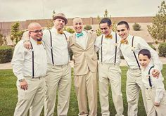 Groomsmen | Wedding and Party Ideas | 100 Layer Cake