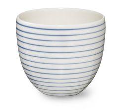 Anne Black Stripes lille kop hos Tinga Tango Designbutik #tingatango #anneblack #kop #porcelæn #interiør #køkkenting #cup#designbutik
