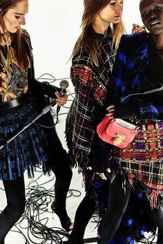 Balmain Autumn/Winter 2017 Pre-Fall Collection | British Vogue