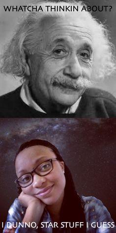 Star struck Einstein, Stars, My Love, Funny, Sterne, Hilarious, Entertaining, Fun