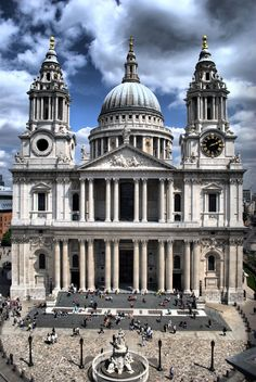 st paul's cathedral - LONDON                                                                                                                                                      More