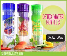 3 detox water recipes that taste great.  Health benefit is a bonus!